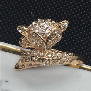 Gold Filled Fox Ring
